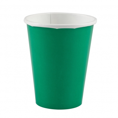Puodeliai, žali (8 vnt./266 ml)