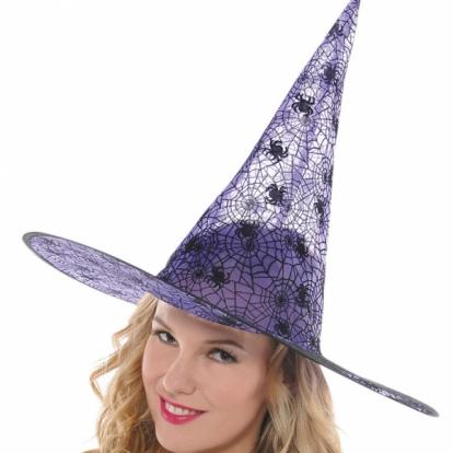 Raganos skrybėlė, violetinė