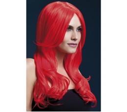Raudonų plaukų perukas