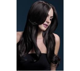 Rudas banguotas perukas (66 cm.)