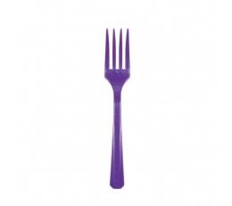 Šakutės, violetinės (10 vnt.)