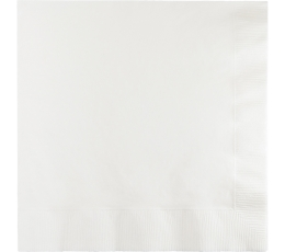 Servetėlės, baltos (50 vnt.)