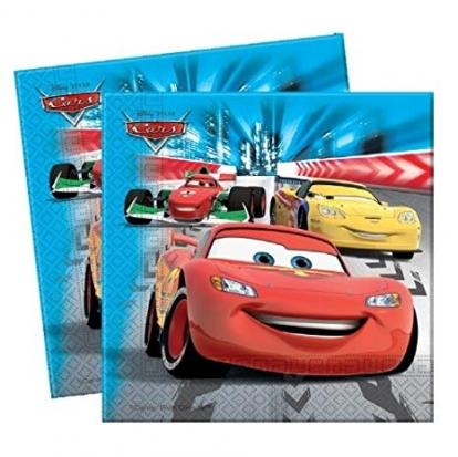 "Servetėlės ""Cars Racers"" (20 vnt.)"