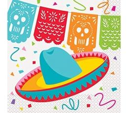 "Servetėlės ""Fiesta Meksikoje"" (16 vnt.)"
