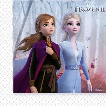 """Servetėlės """"Frozen 2"""" (20 vnt.)"""