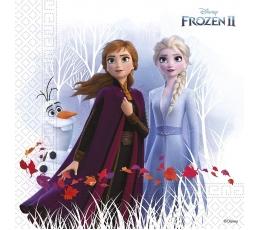 """Servetėlės """"Frozen"""", kompostuojamos (20 vnt.)"""