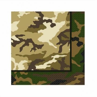 """Servetėlės """"Kareiviai"""" (16 vnt./33x33 cm)"""