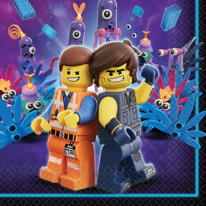 "Servetėlės ""Lego Movie 2"" (16 vnt.)"