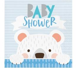 """Servetėlės """"Meškutis. Baby Shower"""" (16 vnt.)"""