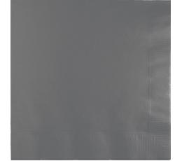 Servetėlės, pilkos matinės (50 vnt.)