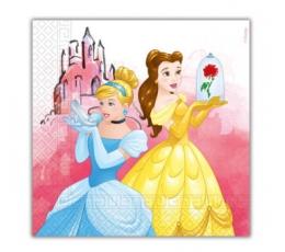 """Servetėlės """"Princesės"""" (20 vnt.)"""