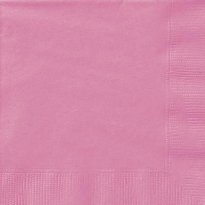 Servetėlės, rožinės spalvos (20 vnt./33x33 cm)
