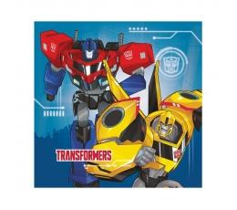 """Servetėlės """"Transformeriai"""" (20 vnt.)"""