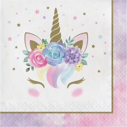 "Servetėlės ""Unicorn Baby"" (16 vnt.)"