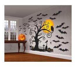 """Sienos dekoracija """"Helovynas"""""""