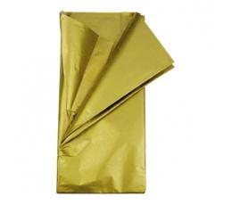 Šilkinis popierius, auksinis (5vnt./50x70cm)
