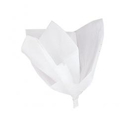 Šilkinis popierius, baltas (10 vnt./50x60 cm)