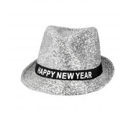 "Skrybėlė ""Happy New Year', sidabrinė"