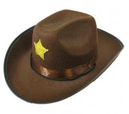 """Skrybėlė """"Sheriff"""" (1 vnt.)"""
