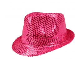 Skrybėlė, žvilganti raudona