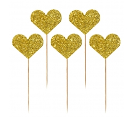 """Smeigtukai """"Auksinės širdelės"""" (10 vnt.)"""