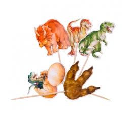 "Smeigtukai-dekoracijos ""Dinozaurai"" (20 vnt./12 cm)"