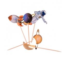 "Smeigtukai-dekoracijos ""Kosmosas"" (20 vnt./12 cm)"