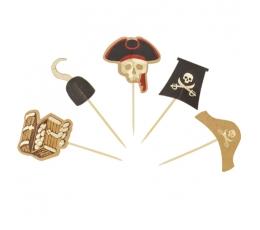 """Smeigtukai-dekoracijos """"Piratai"""" (10 vnt.)"""