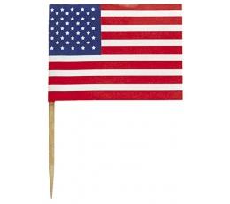 "Smeigtukai-vėliavėlės ""Amerika"" (30 vnt.)"