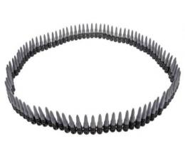 Šovinių juosta / sidabrinė (160 cm.)