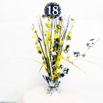 """Stalo dekoracija """"18-as gimtadienis"""""""