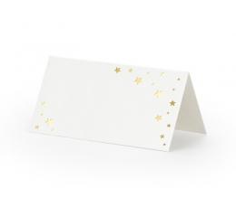"""Stalo kortelės """"Žvaigždės"""" (10 vnt.)"""