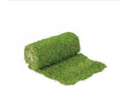 Stalo takelis iš natūralios samanos, žalias (30x200 cm)