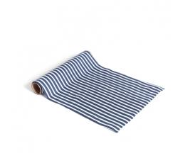 Stalo takelis, mėlynai-baltai dryžuotas (28 cmx5 m)