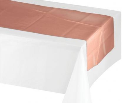 Stalo takelis, rožinio aukso spalvos (35x213 cm)