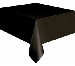 Staltiesė, juoda (137 cm x 274 cm)