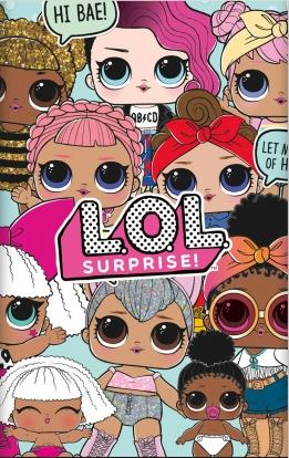 "Staltiesė ""LOL surprise"" (137x213 cm)"