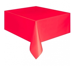 Staltiesė, raudona (137x274 cm)