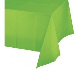 Staltiesė, ryškiai salotinė (137x274 cm)