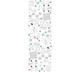"""Staltiesė su pramogomis """"Kalėdos"""" (137x 223 cm)"""
