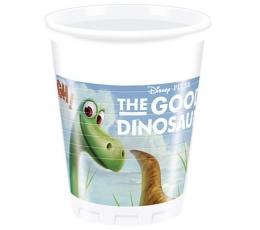 """Stiklinaitės """"Gerasis dinozauras"""" (8 vnt./200 ml.)"""