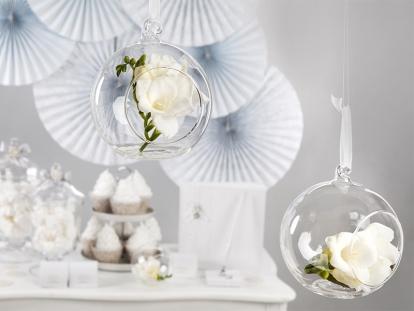Stiklinė dekoracija-burbulas (10 cm)