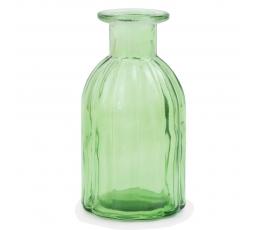 Stiklinis butelis-vazelė, salotinis (13,5 cm)
