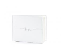 """Svečių palinkėjimų knyga """"Love"""" (22 lapai)"""