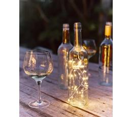 """Švieselių LED girlianda """"Butelio kamštis"""" (1 m)"""