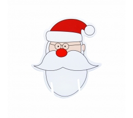 """Taurių dekoracijos """"Kalėdų Senelis"""" (10 vnt.)"""