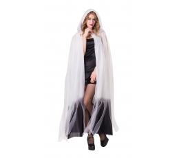 Tiulio apsiaustas, baltos ir juodos spalvų (180 cm.)
