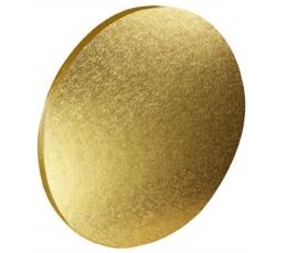 Torto padėklas, auksinis (25 cm)