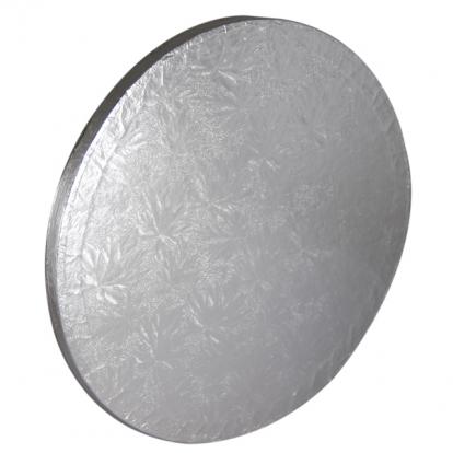 Torto padėklas, sidabrinis (35 cm)