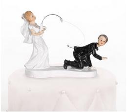 "Torto statulėlė ""Į žvejybą"" (13 cm.)"